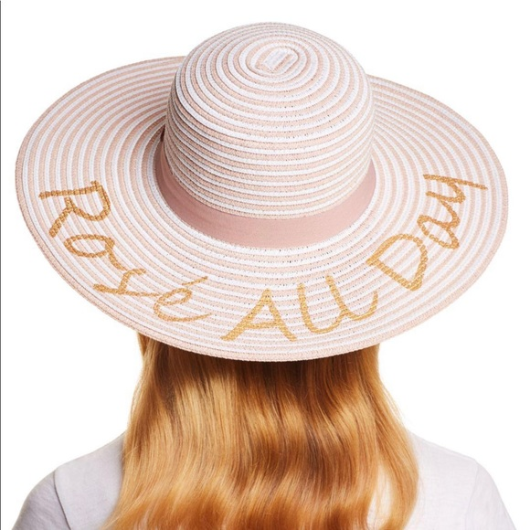 2b7460e6df6957 August Hats Accessories | August Hat Company Rose All Day Floppy Hat ...
